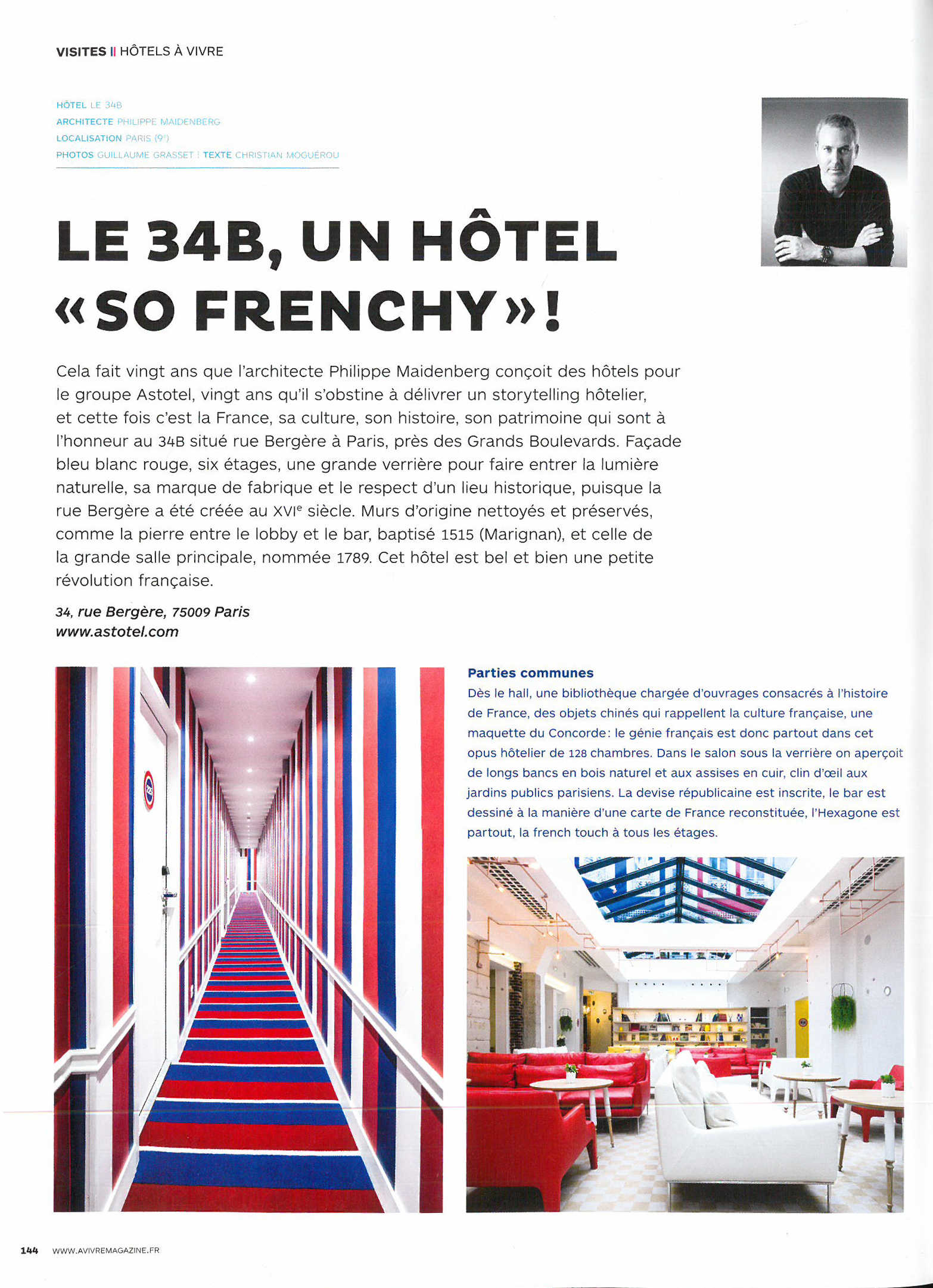 A vivre hotel designer hotel architect maidenberg for Architecture a vivre